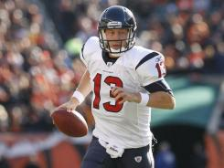 Houston Texans rookie quarterback T.J. Yates led a game-winning touchdown drive in a 20-19 win over the Bengals in Cincinnati.