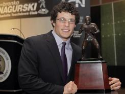 Luke Kuechly led the nation in total tackles with 191 and solo tackles with 102 and was the only unanimous selection to the all-ACC first-team defense this season.