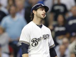 The uncertain status of slugger Ryan Braun, who could face a 50-game suspension if his positive test for a banned substance is upheld, is forcing the Brewers to adjust their offseason plans.