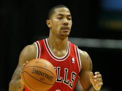 Defending league MVP Derrick Rose of the Chicago Bulls has the NBA Finals in his sight this season.