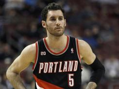 Rudy Fernandez was traded to the Mavericks from the Trailblazers last June. He's on the move again in a deal to the Nuggets.