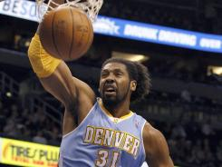 The Denver Nuggets retained Nene with a five-year, $67 million deal.