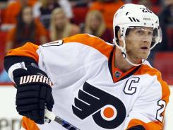 Philadelphia Flyers defenseman Chris Pronger has been held to 13 games this season with a variety of injuries.