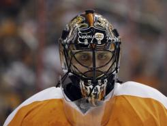 Flyers goalie Ilya Bryzgalov expounded on the universe and on tigers during HBO's reality show.