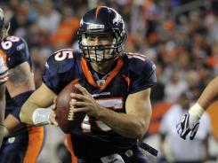 Tim Tebow and the Denver Broncos will face a tough test in the New England Patriots in their Week 15 matchup.