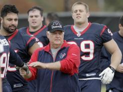 The Texans are allowing 100 fewer yards per game under defensive coordinator Wade Phillips.