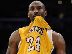 The Lakers' Kobe Bryant could be in for a tough year.