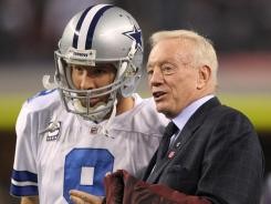 Cowboys owner Jerry Jones is hoping QB Tony Romo can get Dallas back to postseason.