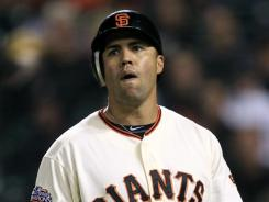 Carlos Beltran hit .300 with 22 home runs and 84 RBI with a .385 on-base percentage for the Mets and Giants in 2011.