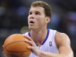 Blake Griffin (32) scored 30 points and added six rebounds and seven assists in the Clippers' second consecutive preseason win over the Lakers on Wednesday night.