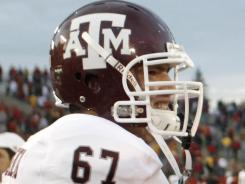 Witnesses say Texas A&M lineman Joseph Villavisencio swerved to avoid a buzzard and veered head-on into an 18-wheeler while driving near College Station, Texas.