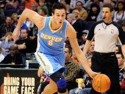 Danilo Gallinari had a game-high 23 points to lead the Nuggets to a preseason sweep of the Suns.