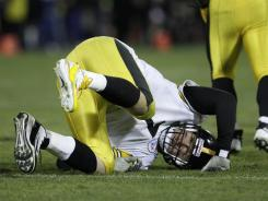 Pittsburgh Steelers quarterback Ben Roethlisberger won't play against the Rams.