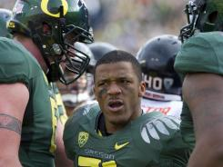 Running back LaMichael James and his Oregon teammates have lost back-to-back Bowl Championship Series matchups, including the title game a year ago.