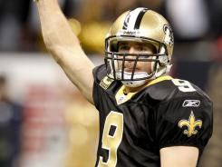 Drew Brees is the first quarterback in NFL history with two 5,000-yard passing seasons.