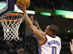 Russell Westbrook and the Thunder are hoping to play less one-on-one basketball, a style that was exposed in last year's Western Conference finals against the Mavericks.