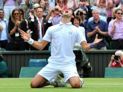 Novak Djokovic did a lot of celebrating during his dream season in 2011. What will he do for an encore?