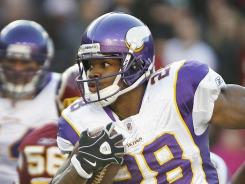 Vikings running back Adrian Peterson (28) had surgery on the ligaments he tore in Week 16 against the Redskins, but is expected to be ready for the start of the 2012 season.