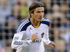 David Beckham won an MLS Cup with the Los Angeles Galaxy last month, but the soccer star hasn't decided where he will play next.