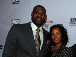 MIAMI -- LeBron James and longtime girlfriend SAVANNAH BRINSON are engaged.