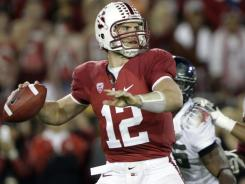 Stanford quarterback Andrew Luck has finished second in the Heisman voting the past two seasons.
