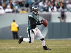 Michael Vick threw for 335 yards and three touchdowns in the Eagles' season-ending 34-10 win over the Redskins on Sunday. Philadelphia finished with four consecutive wins to end up at 8-8.