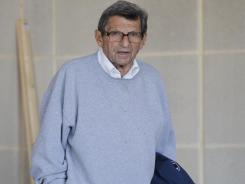 Joe Paterno was fired in November during his 46th season as coach of Penn State.