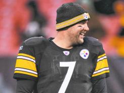 A banged-up Ben Roethlisberger leads the fifth-seeded Steelers into wild-card weekend.