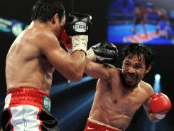 Manny Pacquiao defeated Juan Manuel Marquez in November in a close victory many in the media thought he lost.