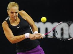 Germany's Sabine Lisicki, seen here at a tournament in Indonesia in November, won her first-round match at the ASB Classic in Auckland, New Zealand on Wednesday.  She's the top seed at the event.