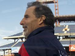 New York Rangers coach John Tortorella, shown on the ice during practice, was critical of officiating at the Winter Classic.