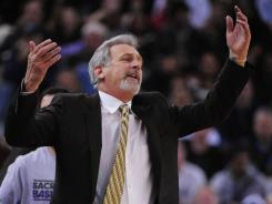 The Sacramento Kings' Paul Westphal on Thursday became the first  NBA coach fired this season.