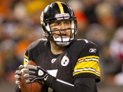 """Broncos coach John Fox says Steelers quarterback Ben Roethlisberger has not shown any signs of being slowed by his ankle injury. """"He's the same very gifted, very physical Ben Roethlisberger,"""" Fox says"""