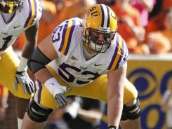 Though he hasn't started a game since Nov. 5, LSU lineman T-Bob Hebert wouldn't want to be anywhere other than LSU.