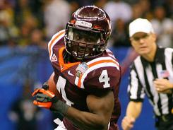 Virginia Tech running back David Wilson was named the ACC Player of the Year and a second-team AP All American.