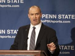 New Penn State coach Bill O'Brien says he's going to bring intensity to the position and turn his players into respectful young men.