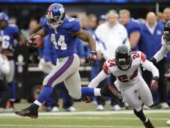 Giants pound Falcons 24-2 in NFC wild-card game