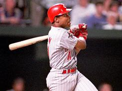 Barry Larkin had a .295 career batting average with 960 RBI, 379 steals and three Gold Gloves.