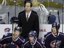 Scott Arniel was the fifth coach in Columbus Blue Jackets history.