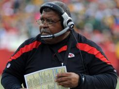 Romeo Crennel won two of three games in Kansas City after replacing Todd Haley.