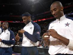 Some of the biggest stars in the NBA hope to repeat their gold medal-winning performance from four years ago at the 2012 London Games this summer.
