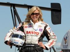 Courtney Force says she's excited and nervous about making the jump to Funny Car.