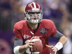 AJ McCarron threw for 234 yards as Alabama won its second national title in three seasons.