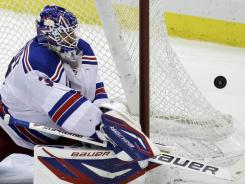 The New York Rangers' Henrik Lundqvist is both the top goalie and the MVP of the first half.
