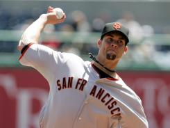 Ryan Vogelsong went 13-7 with a 2.71 ERA in 30 games last year for San Francisco.
