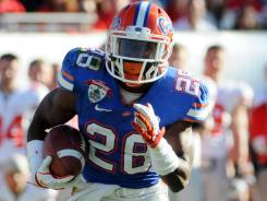 Jeff Demps ran for 2,470 yards and 23 touchdowns during his Florida career in addition to being a four-time NCAA track champion.