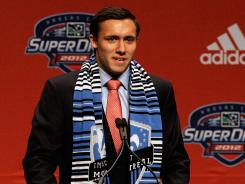 Andrew Wenger was selected by expansion team Montreal Impact with the No. 1 pick. The draft was held in Kansas City, Mo., on Thursday.