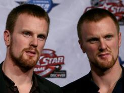 Daniel and Henrik Sedin ended up on different teams during last year's All-Star fantasy draft.