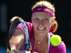 Petra Kvitova saw her quest for the No. 1 ranking go up in smoke after a quarterfinal loss to Li Na at the Sydney International.