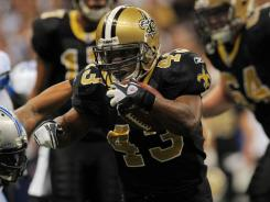 Darren Sproles compiled 2,696 all-purposeyards — rushing, receiving and kick returns — for the Saints, who had the NFL's top-ranked offense.